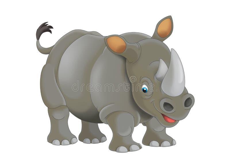 Animale del fumetto - illustrazione per i bambini royalty illustrazione gratis