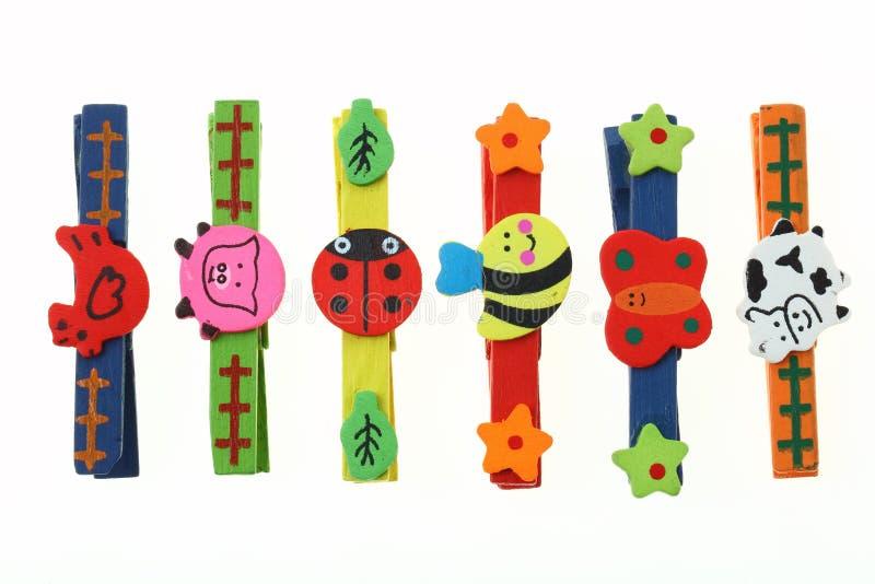 Animale di legno di colore immagine stock libera da diritti