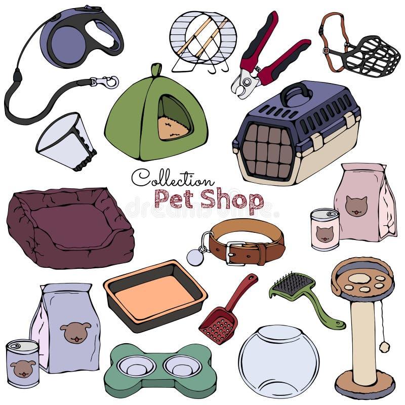 Animale domestico care illustrazione vettoriale