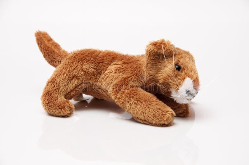 Animale farcito del giocattolo fotografia stock