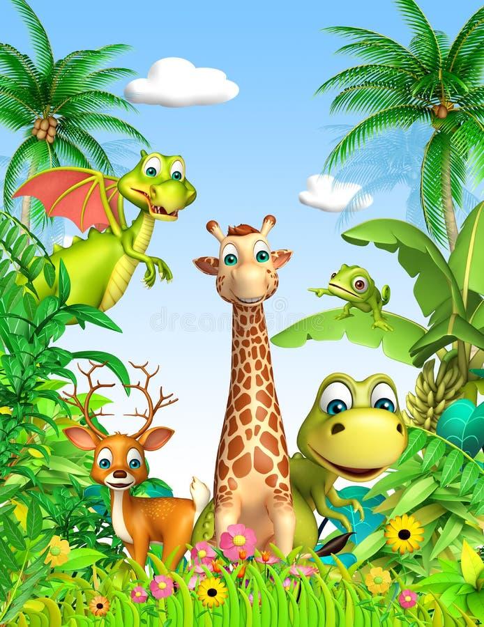 Animale selvatico illustrazione di stock
