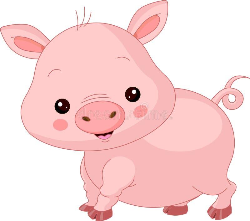 Animales del campo. Cerdo libre illustration