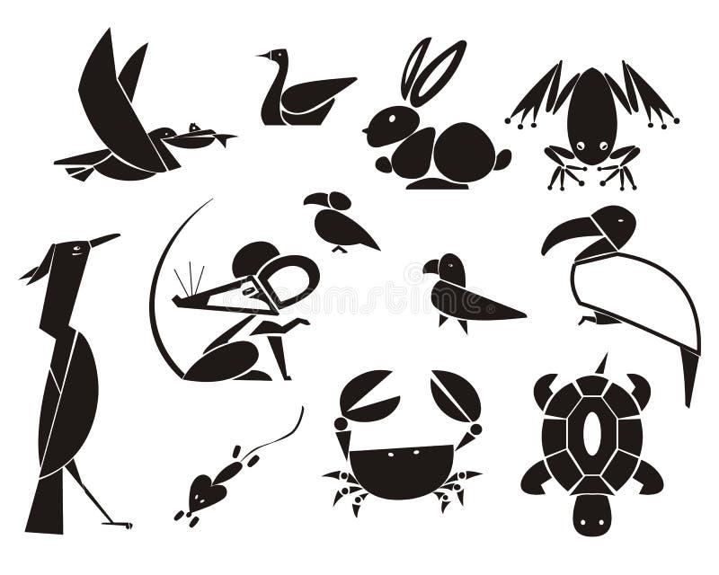 Animales y pájaros fotografía de archivo libre de regalías