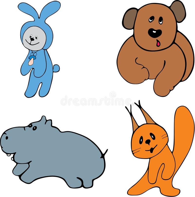 Animali illustrazione di stock