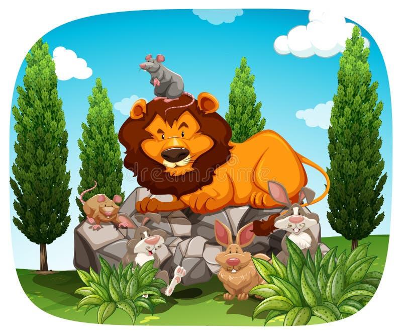 Download Animali illustrazione vettoriale. Illustrazione di bello - 55365255