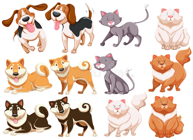 Download Animali illustrazione di stock. Illustrazione di modello - 55365788