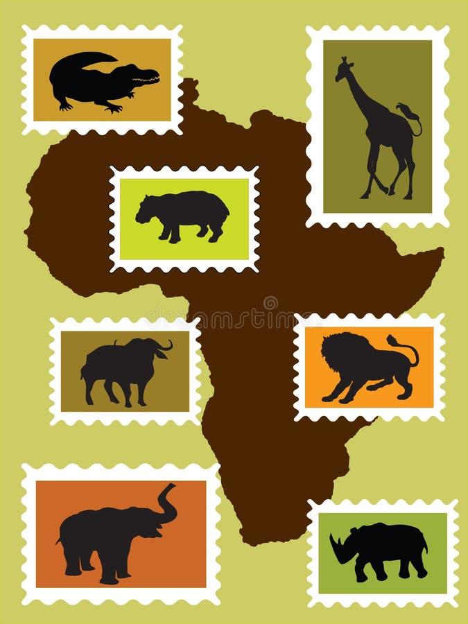 Animali africani fotografia stock