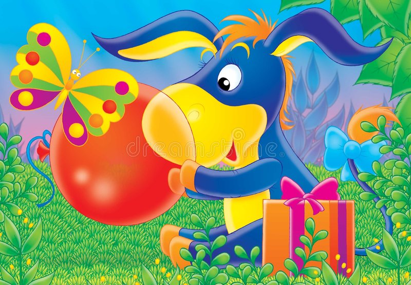 Animali allegri 05 royalty illustrazione gratis
