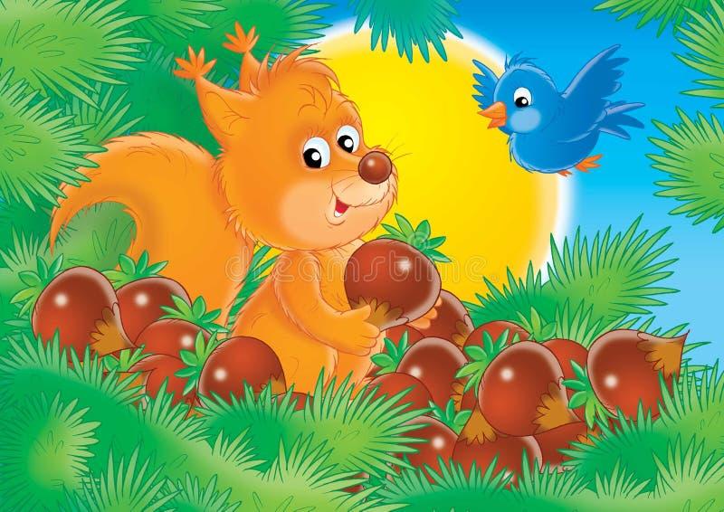 Animali allegri 12 royalty illustrazione gratis