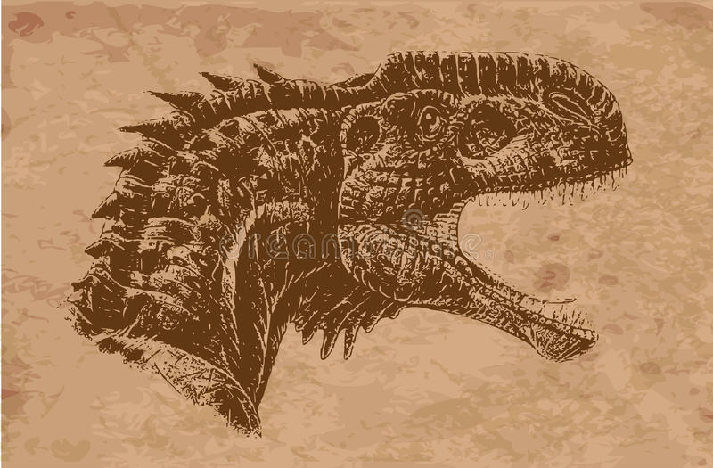Animali antichi fotografia stock