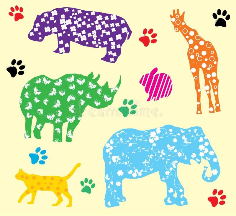 Animali di divertimento royalty illustrazione gratis