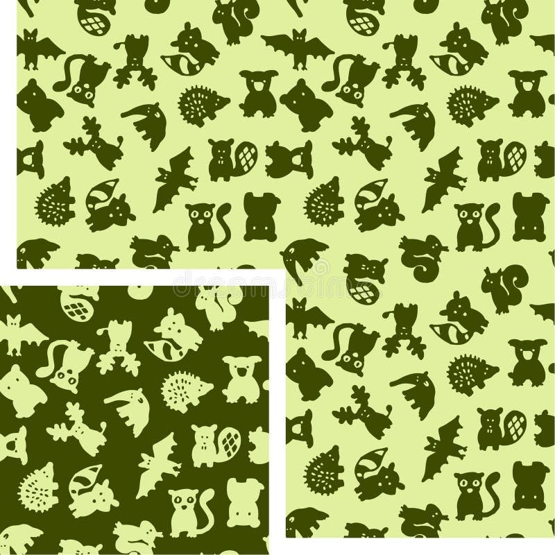 Animali - foresta royalty illustrazione gratis