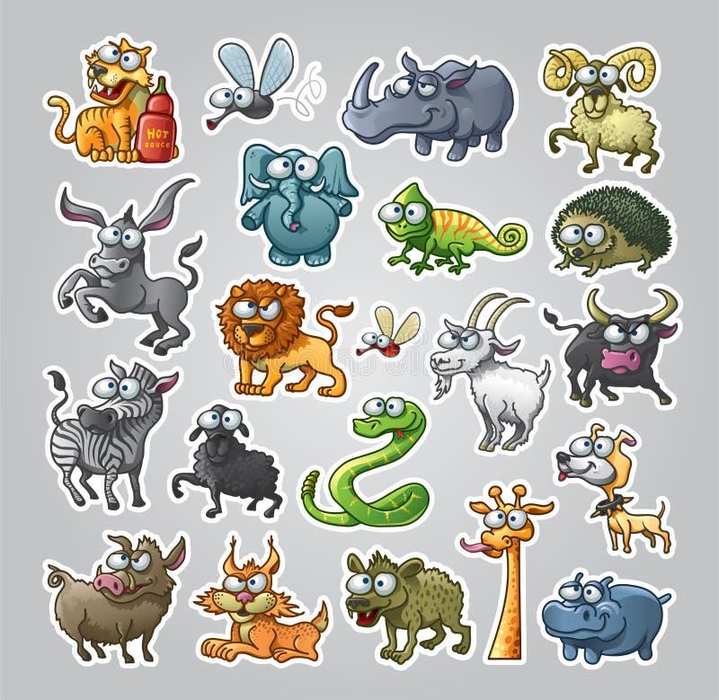 Animali impostati royalty illustrazione gratis