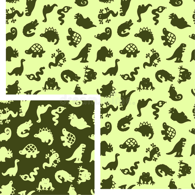 Animali - rettili illustrazione di stock
