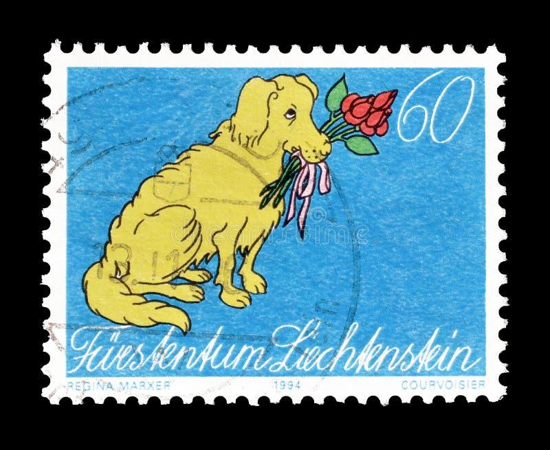 Animali sul francobollo fotografia stock libera da diritti