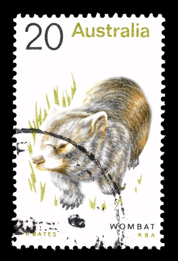 Animali sul francobollo fotografie stock