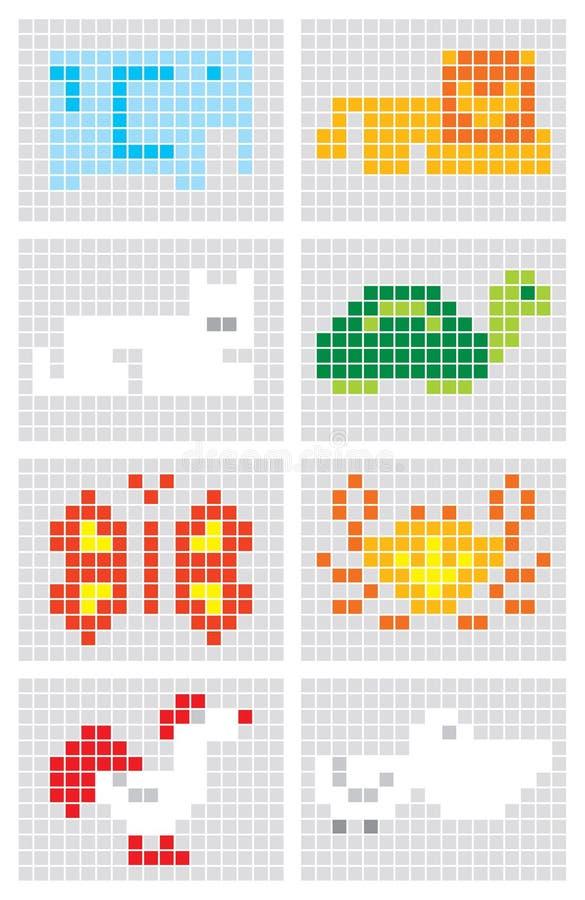 Download Animals stock vector. Image of gray, lion, crab, orange - 25117520