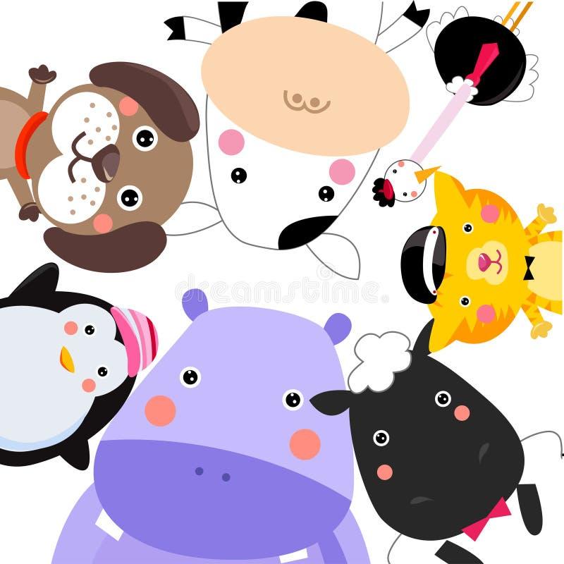 Animals stock illustration