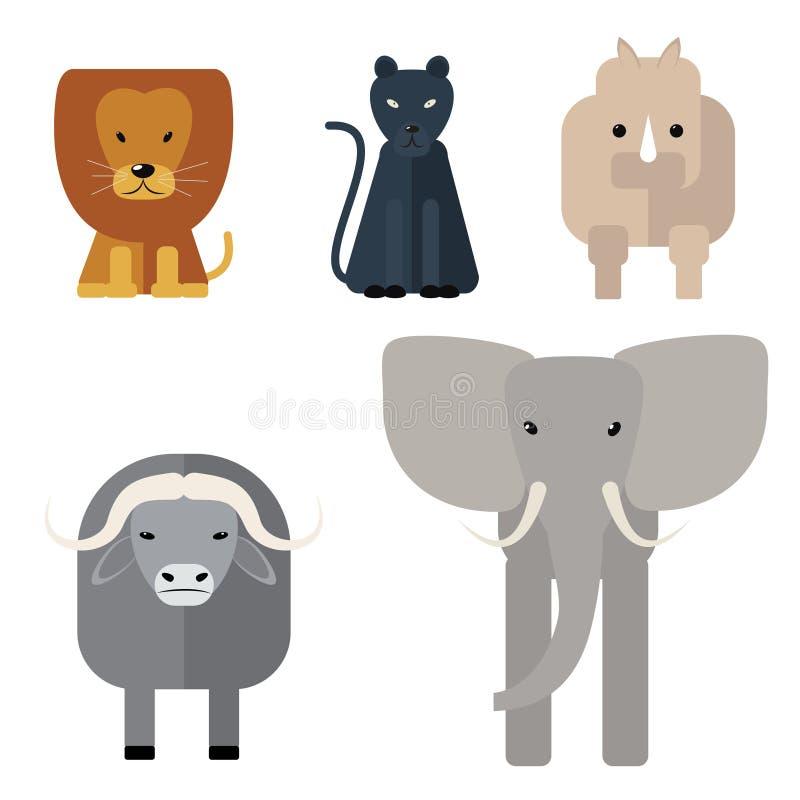 Five Animals Friends Vector Cute Flat Illustration Cartoon Card With Cat Bear Giraffe Rabbit And Bird Stock Vector Illustration Of Buddy Dude 115063381