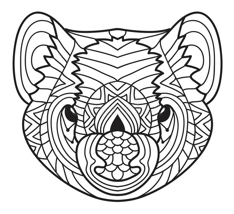 Download Animals Of Australia Tasmanian Devil Coloring Book Stock Vector
