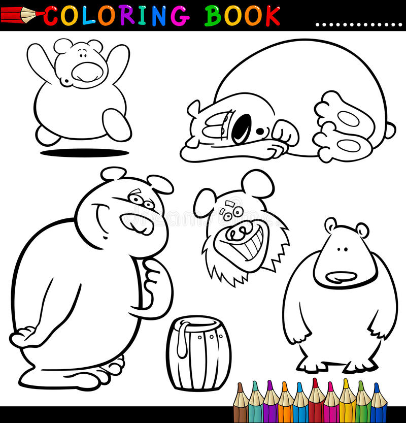 Download Animals For Coloring Book Or Page Stock Vector - Illustration of funny, design: 26422965