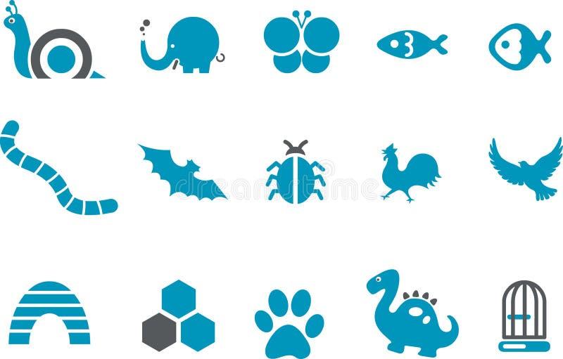 Animals Icon Set stock photos