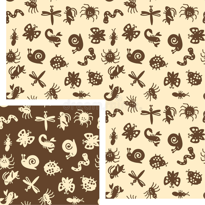 Download Animals - insects stock vector. Illustration of pattern - 4423629