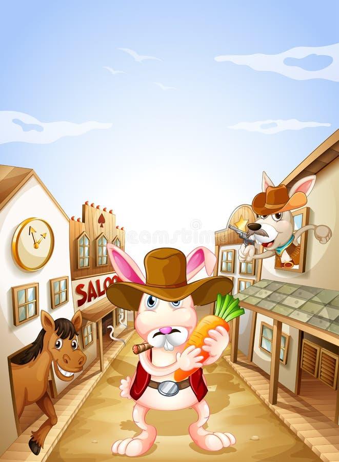Download Animals In The Neighborhood Stock Vector - Image: 33097517