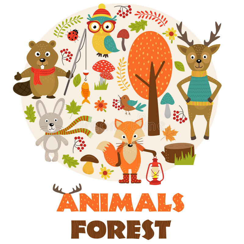 Free Animals Of Forest Part 2 Royalty Free Stock Images - 87750049