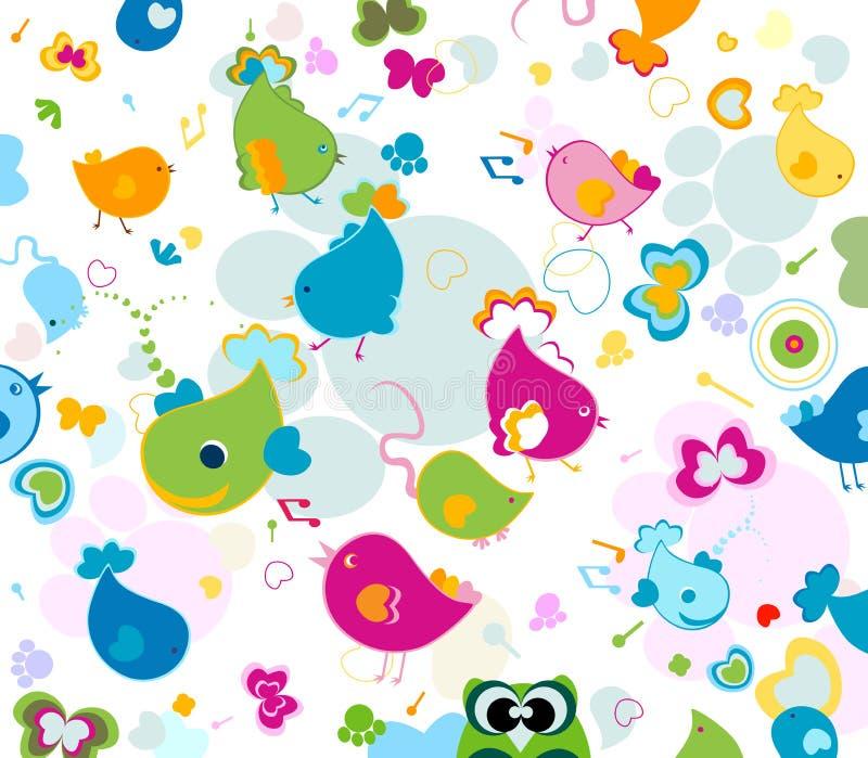 Download Animals pattern stock vector. Illustration of fantasy - 11221269