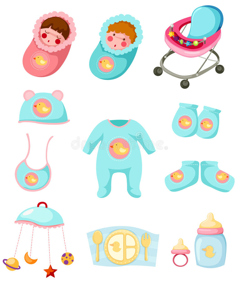 Download Animals set stock vector. Image of carriage, childhood - 20082644