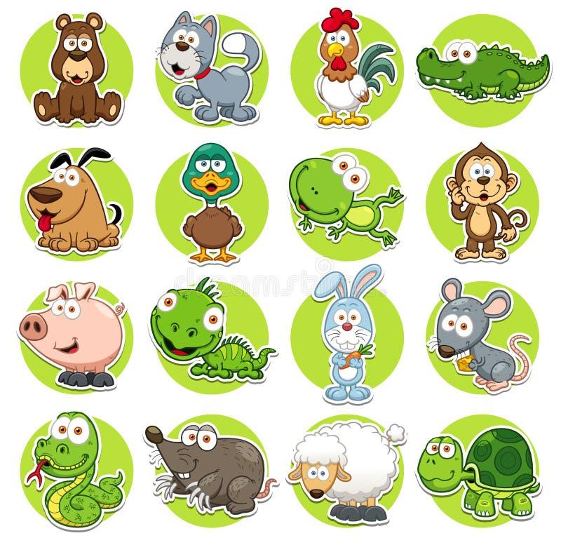 Free Animals Set Stock Photography - 42840122