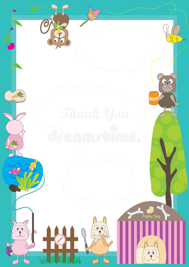 Animals Story Frame_eps