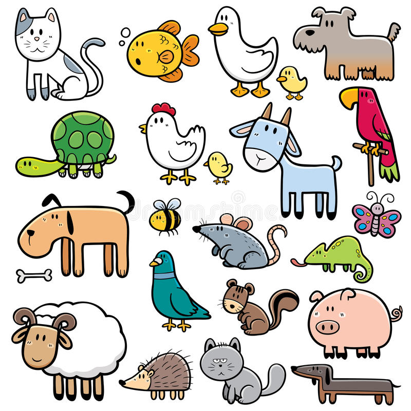 Animals royalty free illustration