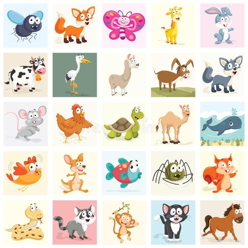Animals Vector Illustration Set vector illustration