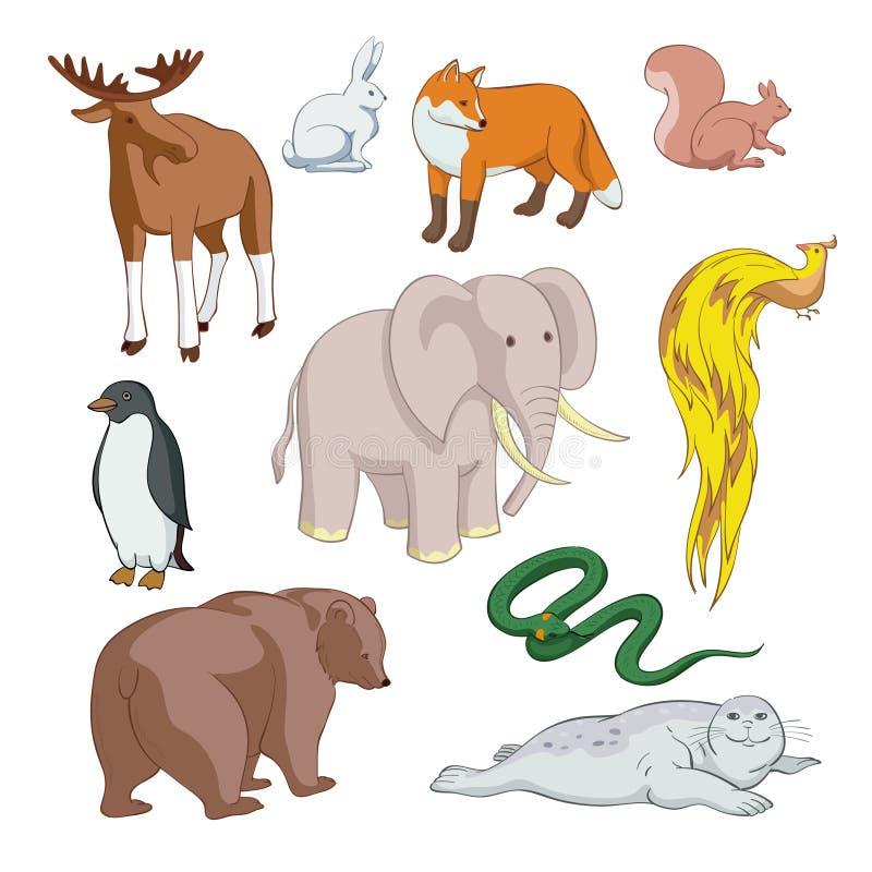 Download Animals stock vector. Illustration of seal, bird, pheasant - 34733003