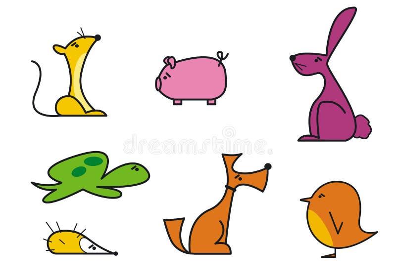animalz1 stock illustrationer