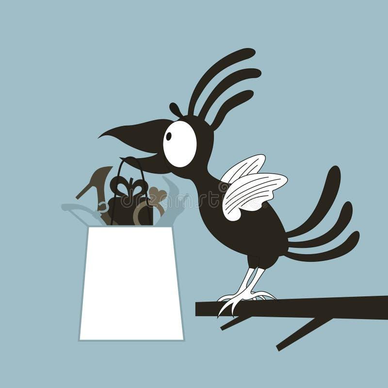Animation a bird vector illustration
