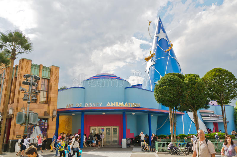 Animation de studios de Disney photos stock