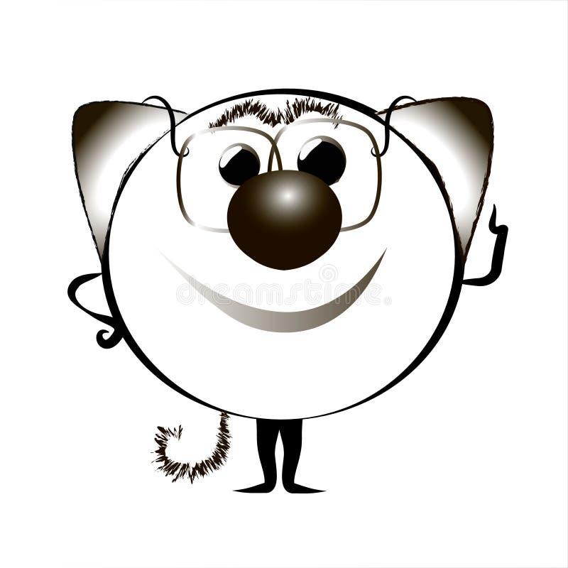 Animationskatze Illustration I lizenzfreie abbildung