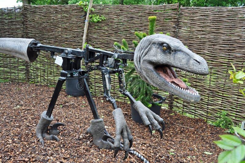 Download Dinosaur Animatronics Inside Model Stock Image - Image of indoor, greek: 41303677