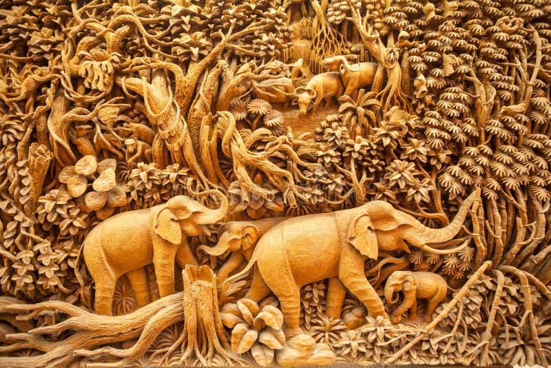 Animaux thaïlandais découpés images stock