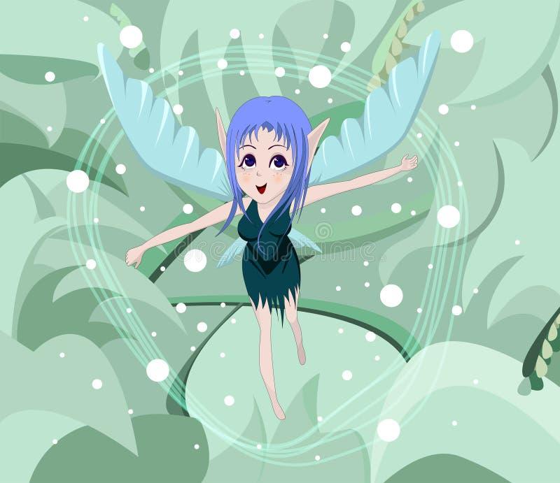 anime νεράιδα στοκ φωτογραφία με δικαίωμα ελεύθερης χρήσης