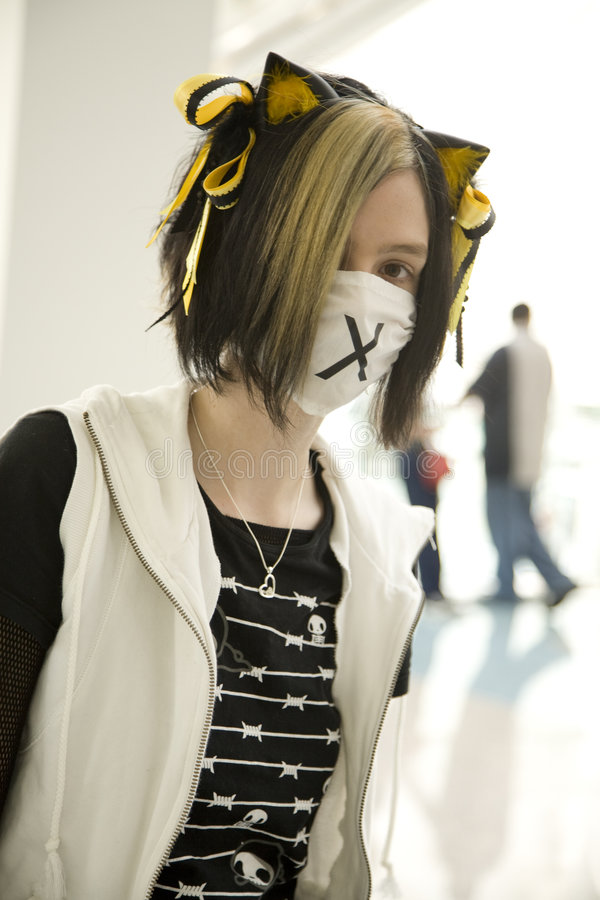 Download Anime Expo 2008 8487 editorial stock image. Image of mask - 7598829