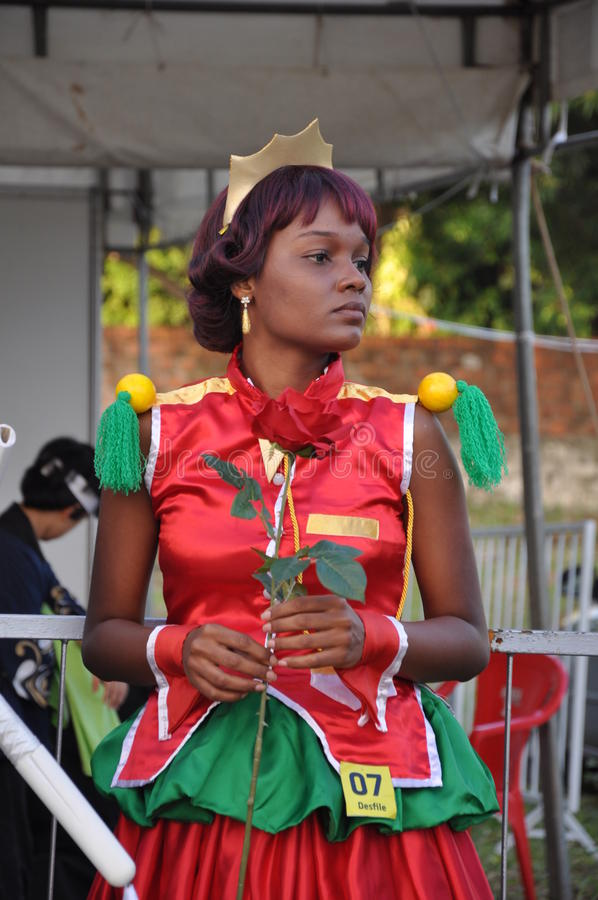 Download Animes Festival Der Prinzessin Black Redaktionelles Stockfotografie - Bild von nahrung, brasilien: 26368562