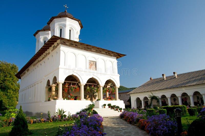 aninoasa修道院罗马尼亚 免版税图库摄影
