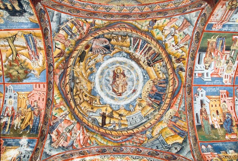 aninoasa修道院罗马尼亚 图库摄影