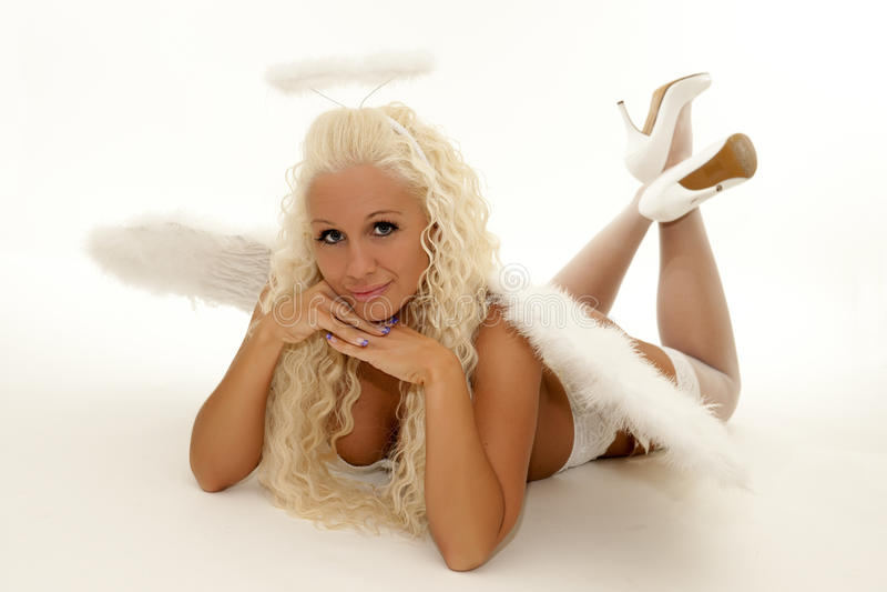 aniołów boże narodzenia zdjęcie stock