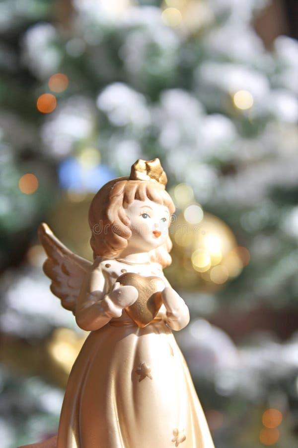 aniołów boże narodzenia odizolowywali biel obrazy royalty free