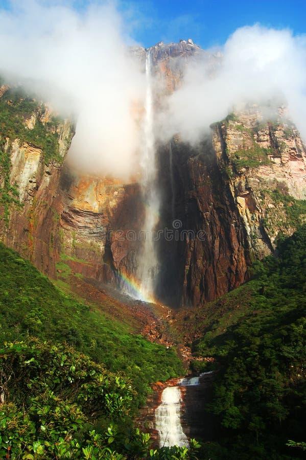 Aniołów spadki - Wenezuela zdjęcie stock